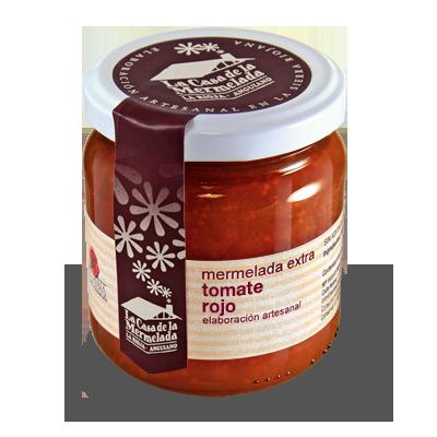 Mermelada extra de tomate rojo. La Casa de la Mermelada. Anguiano, La Rioja.