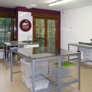 Obrador de La Casa de la Mermelada en Anguiano, La Rioja