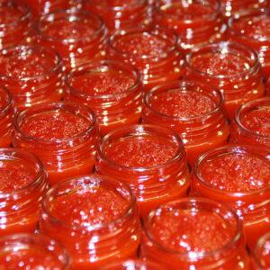 Tarros de mermelada en La Casa de la Mermelada